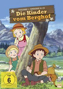 Die Kinder vom Berghof - Volume 1, N, A