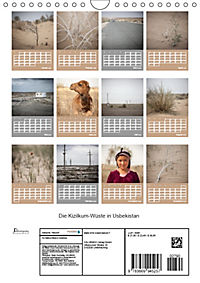 Die Kizilkum-Wüste in Usbekistan - Zwischen Rauheit und Romantik (Wandkalender 2019 DIN A4 hoch) - Produktdetailbild 13