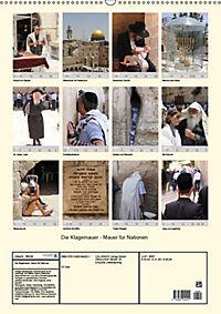 Die Klagemauer - Mauer für Nationen 2019 (Wandkalender 2019 DIN A2 hoch) - Produktdetailbild 13