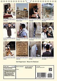 Die Klagemauer - Mauer für Nationen 2019 (Wandkalender 2019 DIN A4 hoch) - Produktdetailbild 13