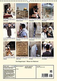 Die Klagemauer - Mauer für Nationen 2019 (Wandkalender 2019 DIN A3 hoch) - Produktdetailbild 13