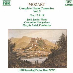 Die Klavierkonzerte Vol. 5, Jando, Antal, Conh