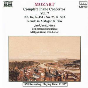 Die Klavierkonzerte Vol. 7, Jando, Antal, Conh