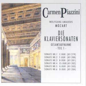 Die Klaviersonaten Teil 1, Carmen Piazzini