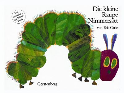Die kleine Raupe Nimmersatt, Spielbilderbuch, Eric Carle