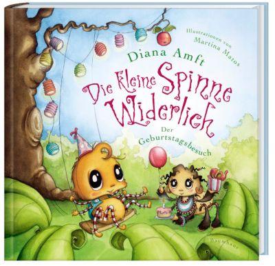Die kleine Spinne Widerlich - Der Geburtstagsbesuch (Mini-Ausgabe), Diana Amft, Martina Matos