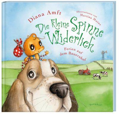 Die kleine Spinne Widerlich - Ferien auf dem Bauernhof, Mini-Ausgabe, Diana Amft