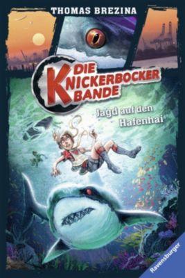Die Knickerbocker-Bande 12: Jagd auf den Hafenhai, Thomas C. Brezina