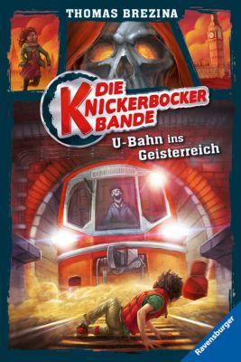 Die Knickerbocker-Bande Band 2: U-Bahn ins Geisterreich, Thomas Brezina