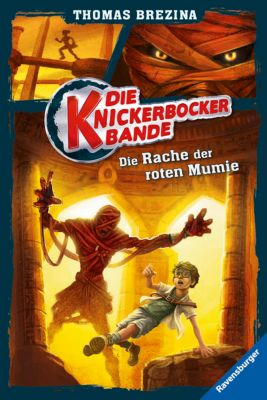Die Knickerbocker-Bande Band 5: Die Rache der roten Mumie, Thomas Brezina