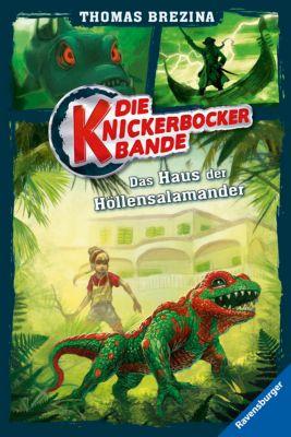 Die Knickerbocker-Bande Band 6: Das Haus der Höllensalamander, Thomas Brezina