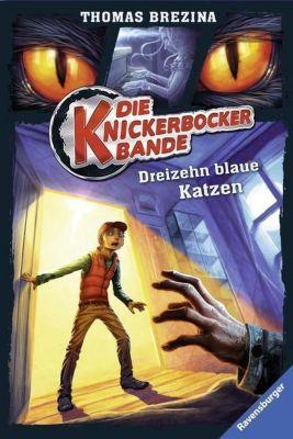 Die Knickerbocker-Bande Band 7: Dreizehn blaue Katzen, Thomas Brezina