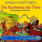 Die Konferenz der Tiere, 1 Audio-CD, Erich Kästner, James Krüss