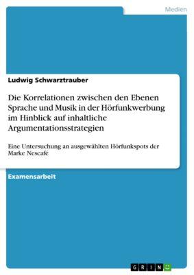 Die Korrelationen zwischen den Ebenen Sprache und Musik in der Hörfunkwerbung im Hinblick auf inhaltliche Argumentationsstrategien, Ludwig Schwarztrauber