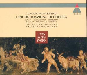 Die Krönung der Poppea (Gesamtaufnahme), Nikolaus Harnoncourt, Cmw
