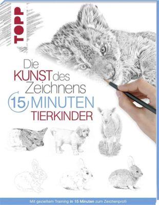 Die Kunst des Zeichnens 15 Minuten - Tierkinder, frechverlag