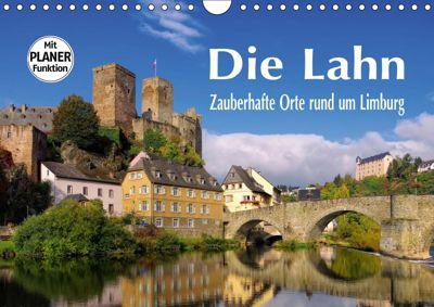 Die Lahn - Zauberhafte Orte rund um Limburg (Wandkalender 2019 DIN A4 quer), LianeM