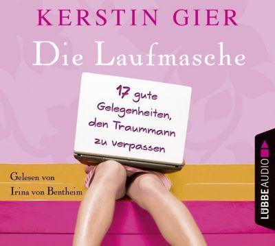 Die Laufmasche, 4 Audio-CDs, Kerstin Gier