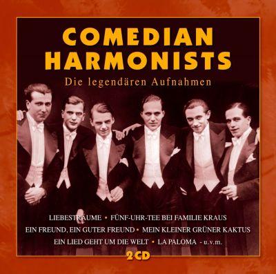 Die legendären Aufnahmen (exklusive Edition), Comedian Harmonist