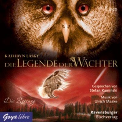 Die Legende der Wächter - Die Rettung, 3 Audio-CDs, Kathryn Lasky