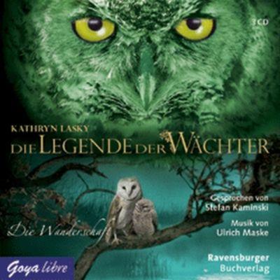 Die Legende der Wächter - Die Wanderschaft, 3 Audio-CDs, Kathryn Lasky
