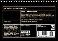 Die Legende - die Ente, Citroën 2CV (Tischkalender 2019 DIN A5 quer) - Produktdetailbild 13