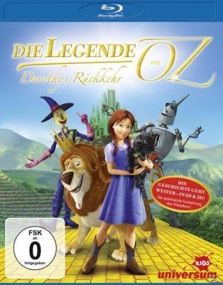 Die Legende von Oz - Dorothy's Rückkehr, Diverse Interpreten