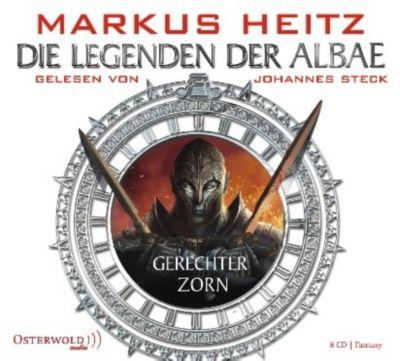 Die Legenden der Albae Band 1: Gerechter Zorn (8 Audio-CDs), Markus Heitz