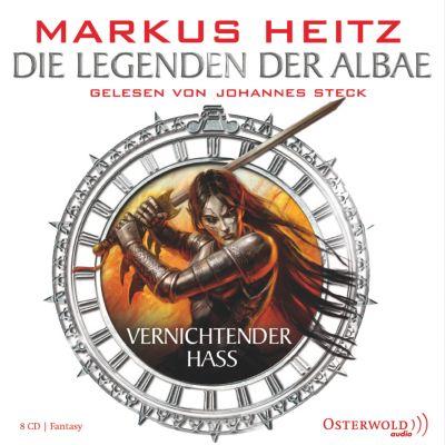 Die Legenden der Albae Band 2: Vernichtender Hass (8 Audio-CDs) - Markus Heitz pdf epub