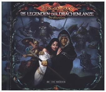 Die Legenden der Drachenlanze - Die Brüder, 2 Audio-CD, David Holy