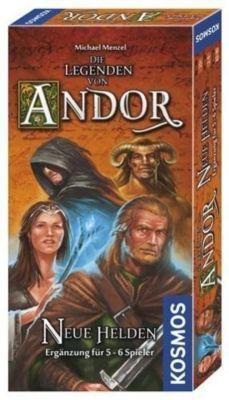 Die Legenden von Andor, Neue Helden (Spiel-Zubehör), Michael Menzel