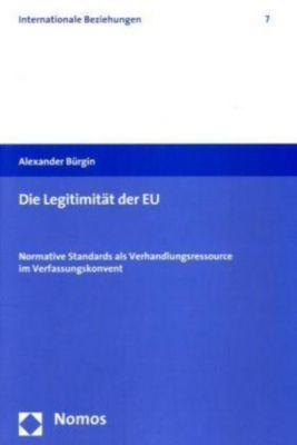 Die Legitimität der EU, Alexander Bürgin