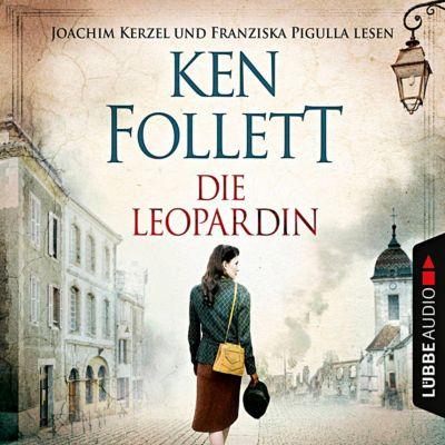 Die Leopardin, 6 Audio-CDs, Ken Follett