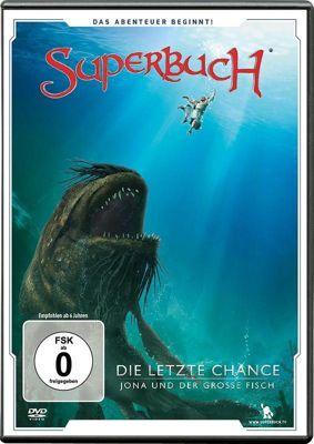 Die letzte Chance - Jona und der große Fisch, 1 DVD