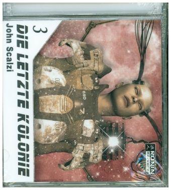 Die letzte Kolonie, 2 MP3-CDs, John Scalzi
