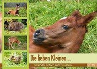 Die lieben Kleinen ... Tierkinder einfach zum Knuddeln (Wandkalender 2019 DIN A2 quer), k.A. GUGIGEI