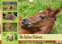 Die lieben Kleinen ... Tierkinder einfach zum Knuddeln (Wandkalender 2019 DIN A4 quer), k.A. GUGIGEI