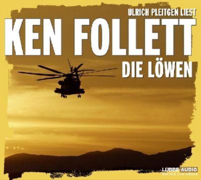 Die Löwen, 6 Audio-CDs, Ken Follett