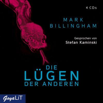Die Lügen der Anderen, 4 Audio-CDs, Mark Billingham