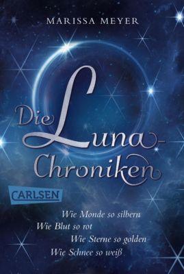 Die Luna-Chroniken: Die Luna-Chroniken: Alle vier märchenhaften Bände als E-Box!, Marissa Meyer