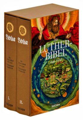 Die Luther-Bibel von 1534, 2 Bde. mit Begleitheft - Stephan Füssel  