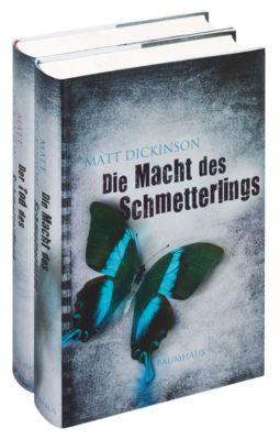 Die Macht des Schmetterlings / Der Tod des Schmetterlings, 2 Bände - Matt Dickinson |