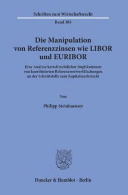 Die Manipulation von Referenzzinsen wie LIBOR und EURIBOR. - Philipp Steinhaeuser  