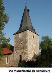 Die Marienkirche zu Wendeburg, Otto Pfingsten, Rolf Ahlers