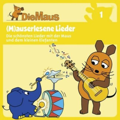 Die Maus - (M)auserlesene Lieder, 1 Audio-CD, Diverse Interpreten