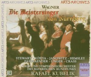 Die Meistersinger von Nürnberg, Rafael Kubelik, SOBR & Chor Des Sobr