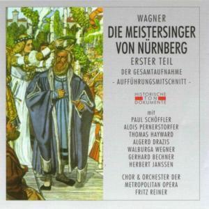 Die Meistersinger Von Nürnberg 1, Chor & Orch.Der Metropolitan Opera