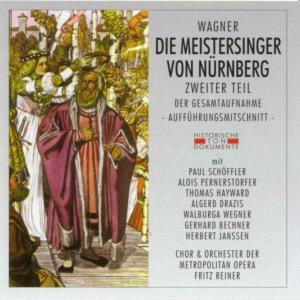 Die Meistersinger Von Nürnberg 2, Chor & Orch.Der Metropolitan Opera