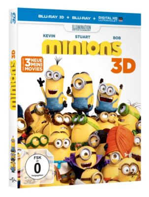 Die Minions - 3D Version, Diverse Interpreten