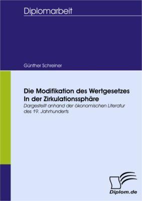 Die Modifikation des Wertgesetzes in der Zirkulationssphäre, Günther Schreiner